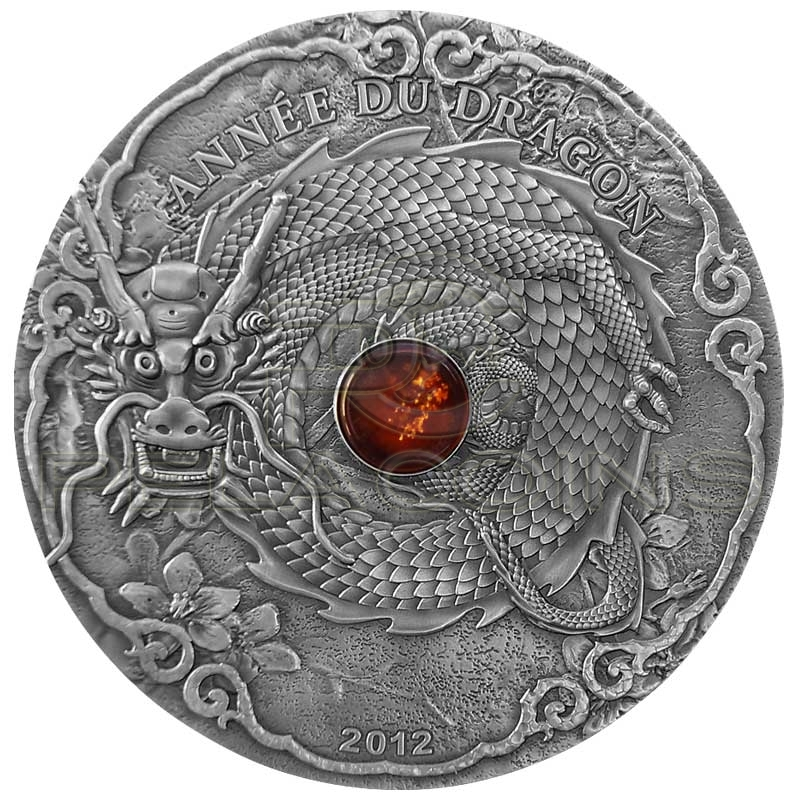 Togo 2012 1500 Francs Year of the Dragon