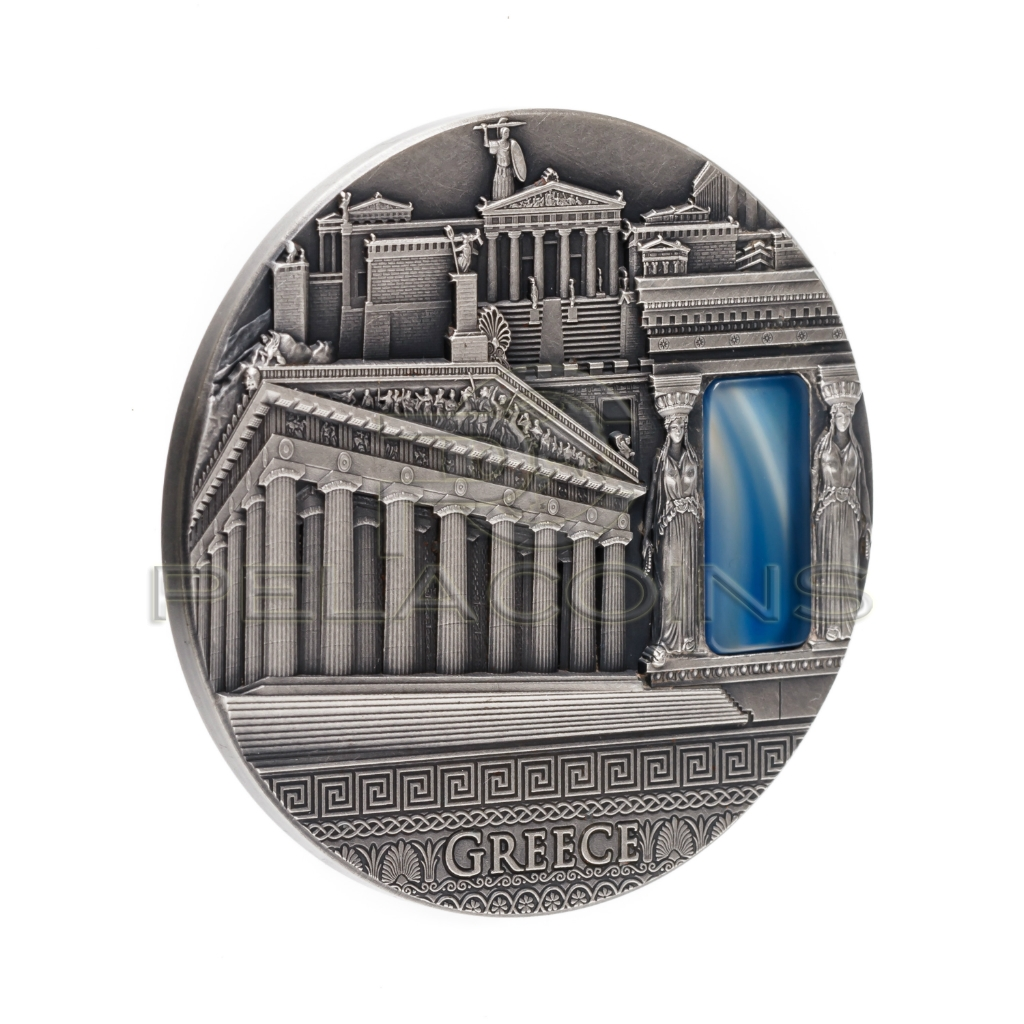 Niue Island 2018 2$ Greece - Imperial Art 2oz