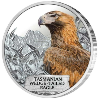 Tuvalu 2012 1$ Tasmanian Wedge - Tailed Eagle