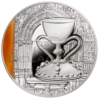 Niue 2013 2$ Holy Grail - Mysteries of History 2oz
