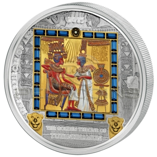 Cook Island 2015 20$ + 25$ Masterpieces of Art - Gold Throne Special Edition