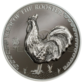 Mongolia 2017 500 Togrog Year of the Rooster
