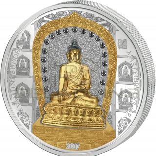 Cook Islands 2017 20$, 25$ Masterpieces of Art Special Edition - Shakyamuni Buddha
