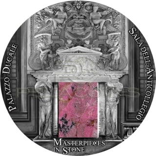 Fiji 2016 10$ Palazzo Ducale - Masterpieces in Stone IV 3oz