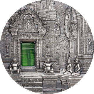 Palau 2019 10$ TIFFANY ART Angkor 2oz