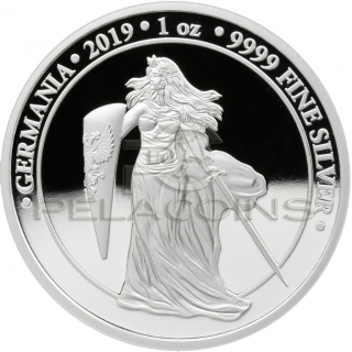 Germania 2019 5 Mark Proof 1oz Silver Coin