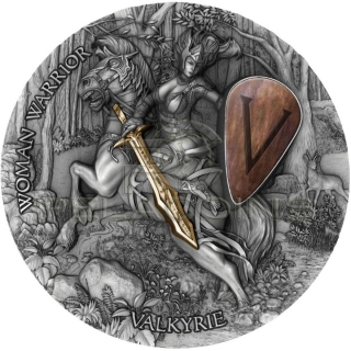 Niue 2020 5$ VALKYRIE - Woman Warrior 2oz