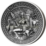Cook Islands 2016 10$ Norse ...
