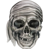 Palau 2017 5$ Pirate Skull 1oz Silver Coin