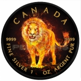 Canada 2018 5$ Burning Anima...