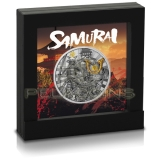 Niue Island 2019 5$ Warriors Samurai 2oz