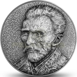 Niue 2020 5$ VAN GOGH Self Portrait 13,5oz - 80mm Silver Coin