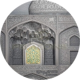 Palau 2020 10$ TIFFANY ART Safavid 2oz